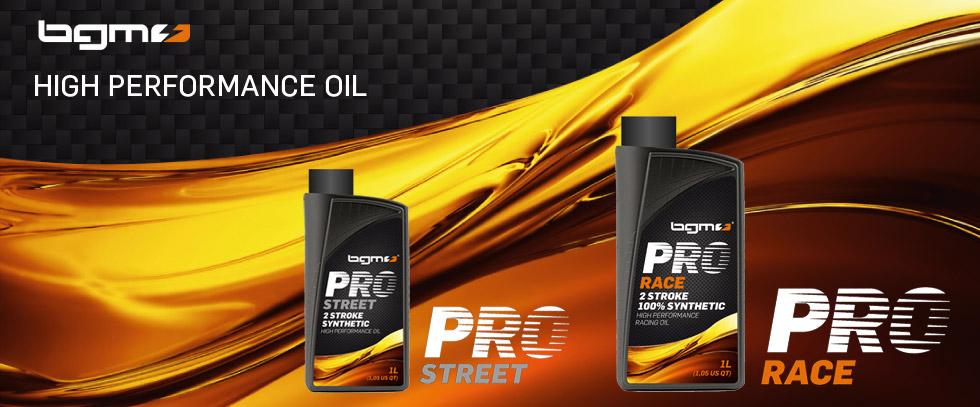 Öl -BGM PRO RACE- 2-Takt vollsynthetisch - 1000ml